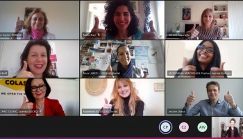 Back to the webinar of March 8 : BEING A WOMAN IN THE INDUSTRY IN EUROPE TODAY : STILL IN PROGRESS !