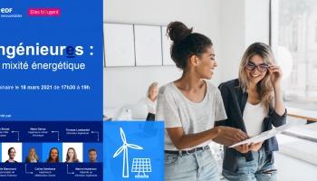 Un webinaire sur les métiers de la transition énergétique avec des marraines engagées !