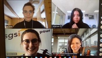 Challenge InnovaTech© Elles Bougent 2021 en Lorraine : Bravo à l'équipe
