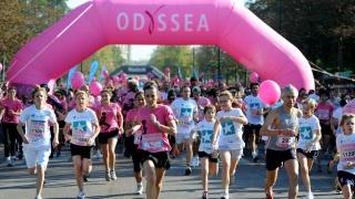 Elles bougent participe à la course Odyssea au profit de la lutte contre le cancer du sein