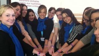 Thales a accueilli près de 1000 jeunes filles le 8 mars