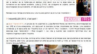 IndustriELLES 2013, c'est parti !