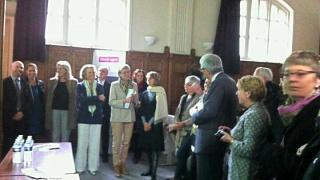Réunion bilan de la première année de convention avec le rectorat de Paris