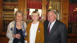 Michèle Larchez, Déléguée générale d'Elles bougent décorée de l'Ordre des Palmes académiques