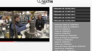 Reportage de l'émission Télématin du 17 mai 2013