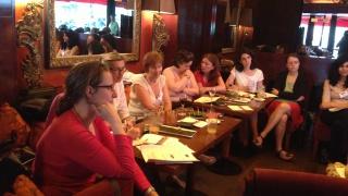 Happy Hour IDF : un moment d'échange entre marraines et partenaires