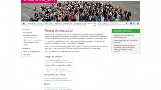 Évolution de notre forum de discussion sur notre site internet