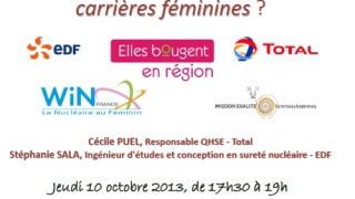 Métiers du Nucléaire et Hygiène Sécurité dans l'industrie, des carrières féminines?