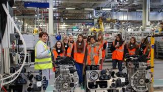 L'association « Elles bougent » en Lorraine a organisé une semaine de stages en entreprises pour 200 collégiennes !