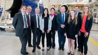 Les rencontres Elles bougent pour l'industrie chez Airbus à Toulouse