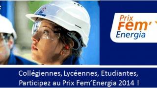 EDF - Prix Fem'Energia 2014, 6ème édition : la campagne est lancée !