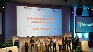 Finale nationale des Olympiades des SI: Lyon récompensé.