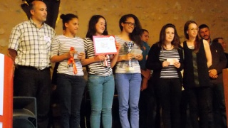 Journée finale de Défi Méccano à Evreux : concours remporté par une équipe féminine
