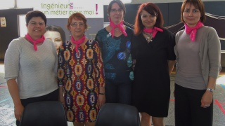 Forum des Metiers Elles bougent à l'ENAC