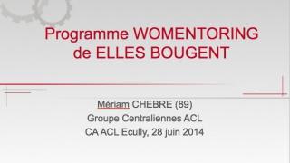 Lancement Womentoring, Centrale Lyon 20 novembre 2014