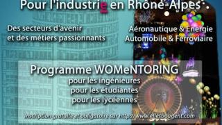 Lancement WOMENTORING avec la journée des SI au féminin, 20 nov, Lyon.