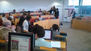 Elles bougent en Pays de la Loire, plus de 50 participants motivés réunis au Conseil Régional le 10 Mars