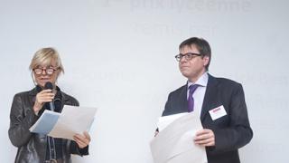 """Remise des prix du jeu-concours """"La voiture de 2050"""" chez Bosch"""