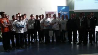Deux lycées hauts-normands membres du club Elles bougent en finale des OSI 2015