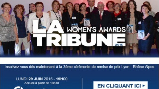 Invitation cérémonie WOMEN'S AWARD La TRIBUNE RHONE-ALPES, 29 juin, CCIR.