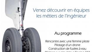 Découvrez les métiers de l'aéronautique à l'IPSA le 28/01!