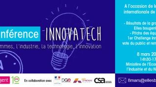 1ère Conférence Innovatech Elles bougent