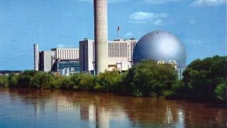 Visite de la centrale nucléaire de Chinon pour des bac pro