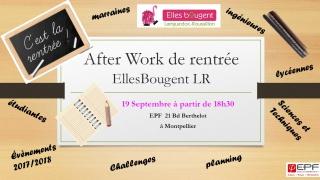 Afterwork de rentrée Elles Bougent Languedoc-Roussillon