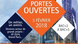 Journée Portes Ouvertes ESTP PARIS : appel aux marraines
