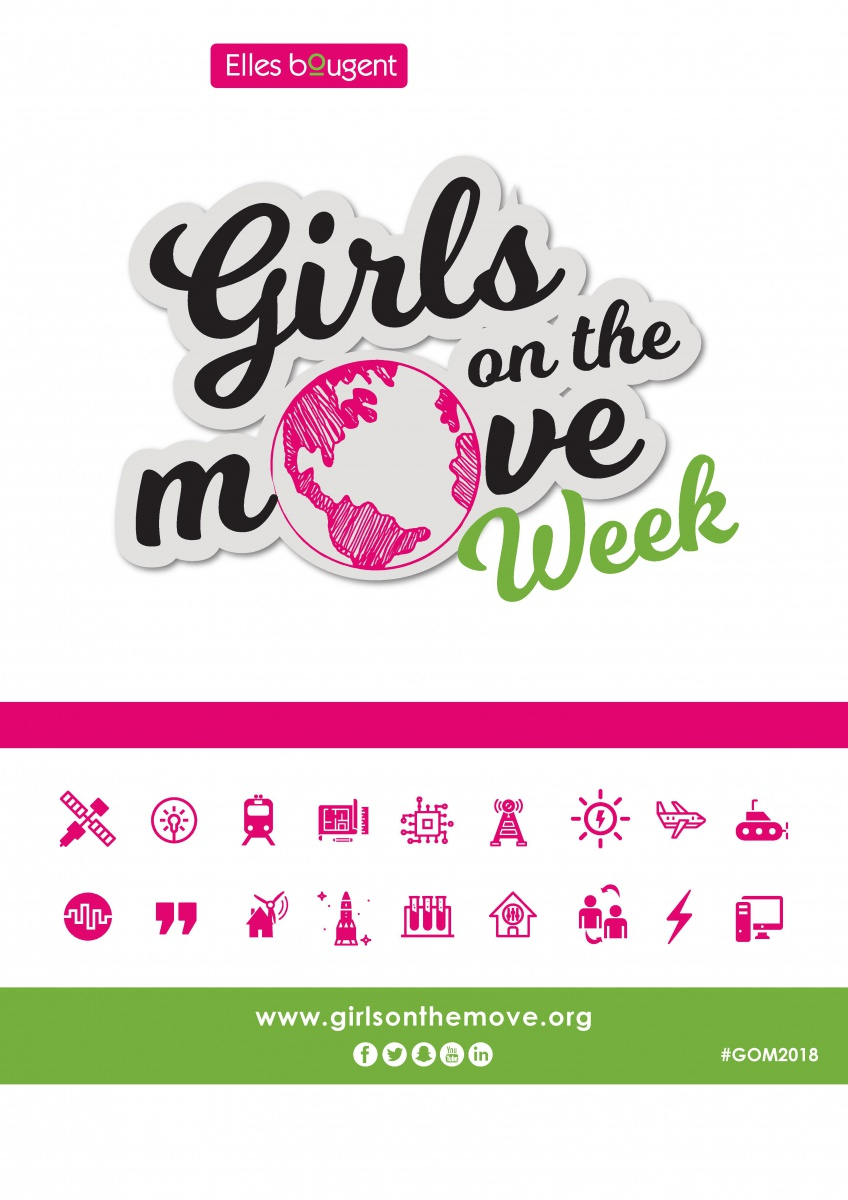 Girls on the Move week 2018 la semaine du 08 mars avec Elles Bougent