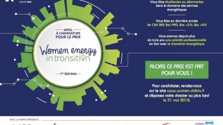 Prix Women Energy in Transition by Dalkia : appel à candidature