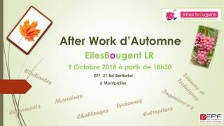 Afterwork d'automne Languedoc-Roussillon