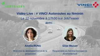 Webinair VINCI sur la mixité au sein des métiers de l'ingénieur.e