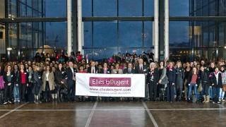 """""""Elles bougent pour l'énergie !"""" à la Cité des sciences et de l'industrie le 8 décembre 2011"""