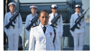 Elles bougent au Mondial des Metiers avec la Marine Nationale