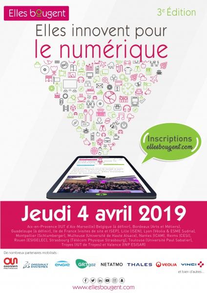 Calendrier Universitaire Paul Sabatier.Elles Bougent Elles Innovent Pour Le Numerique Midi Pyrenees