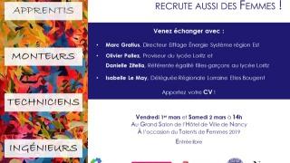 Elles Bougent Lorraine partenaire de TALENTS de FEMMES 2019