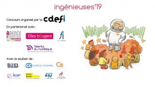 Participez au concours Ingénieuses 2019 avant le 8 mars