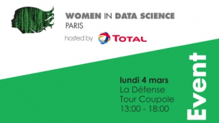 Conférence Women in Data Science avec Total