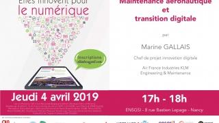Elles Innovent pour le Numérique 2019 sur Nancy