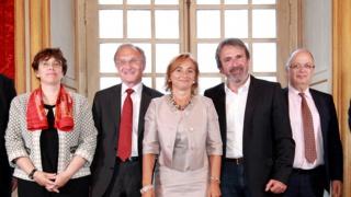 Cérémonie de passation de Présidence d'honneur d'Elles Bougent