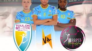 Classico Handball féminin : « Duel des rades Toulon ST Cyr / Brest »