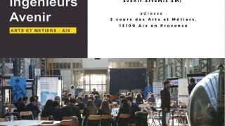 Elles bougent au « Forum Ingénieurs Avenir » du campus d'Aix-en-Provence.