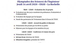 Finale académique des Olympiades des Sciences de l'ingénieur