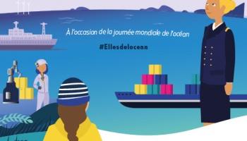 Les Elles de l'Océan : ensemble, donnons plus de visibilité aux métiers de la mer !