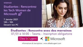 Etudiantes: rencontrez les Tech Women de Microsoft