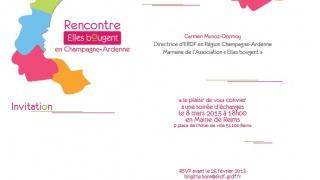 Débat rencontre « Elles Bougent en Champagne-Ardenne »