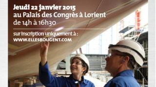 Rencontre Elles bougent chez DCNS Lorient