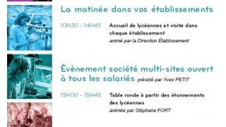 Journée Ambassadeur Métier au féminin avec Dassault Aviation
