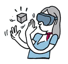 Marraine réalité virtuelle